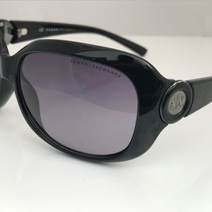 Armani Exchange Women Sunglasses Black Plastic